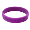 Silicon Bracelet Silicon Wristband With 3d Effect Wording Printing Custom