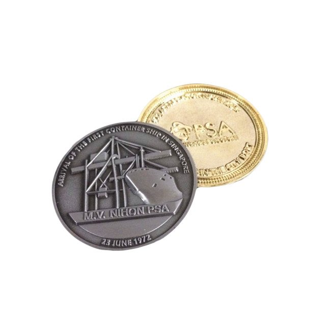 High Quality 2 Euros Coin Replica, Gold Coin,Souvenir Coin