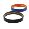 Color Coated Silicone Wristbands, Painting Silicone Bangles