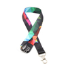 Promotional Sublimated Lanyard Printed Exhibition Lanyard With Id Badge Holder