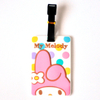 Manufacturer Custom Logo Waterproof 3D Cartoon Silicone Plastic Luggage Tag for Travel Tag and Name Tag