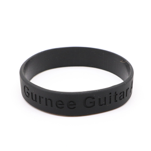 Skyee Promotional Cheap Custom printed logo Debossed silicone wristband