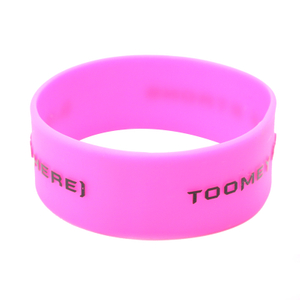 skyee custom rubber bracelets Embossed silicone wristbands manufacturers