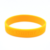 Skyee Cheap price gift items deboss rubber wrist custom band bracelet