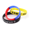 skyee Promotional Cheap Silicone Wristband Embossed Wristband Logo Printing Wrist Band