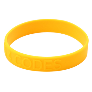 Skyee New Product Customize Silicone Bracelet With embossed Logo
