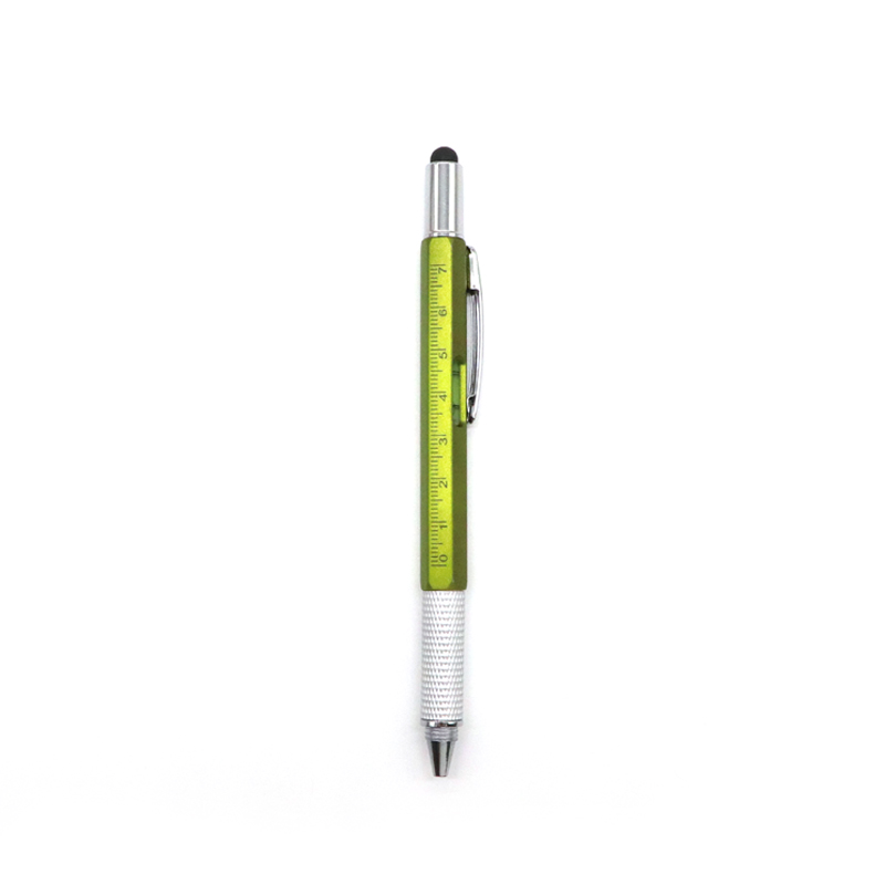 Skyee Contracted Style Led Light Touch Multifunctional Ballpoint Pen With Logo Customization