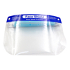 Transparent plastic anti fog full face shield