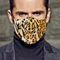 High Qulaity Anti Fog Cloth Reuseable Leopard Print Mask for Civil