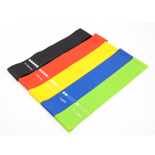 100% Natural Latex Custom Printed Resistance Loop Band