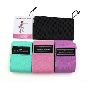 Wholesale Custom Logo Fitness Exercise Hip Resistance Loop Band Set